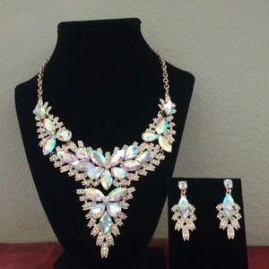 ❤Custom Jewelry Necklace & earrings set